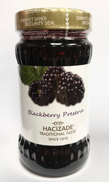 Hacizade Blackberry Jam- 380g - Turkish Mart