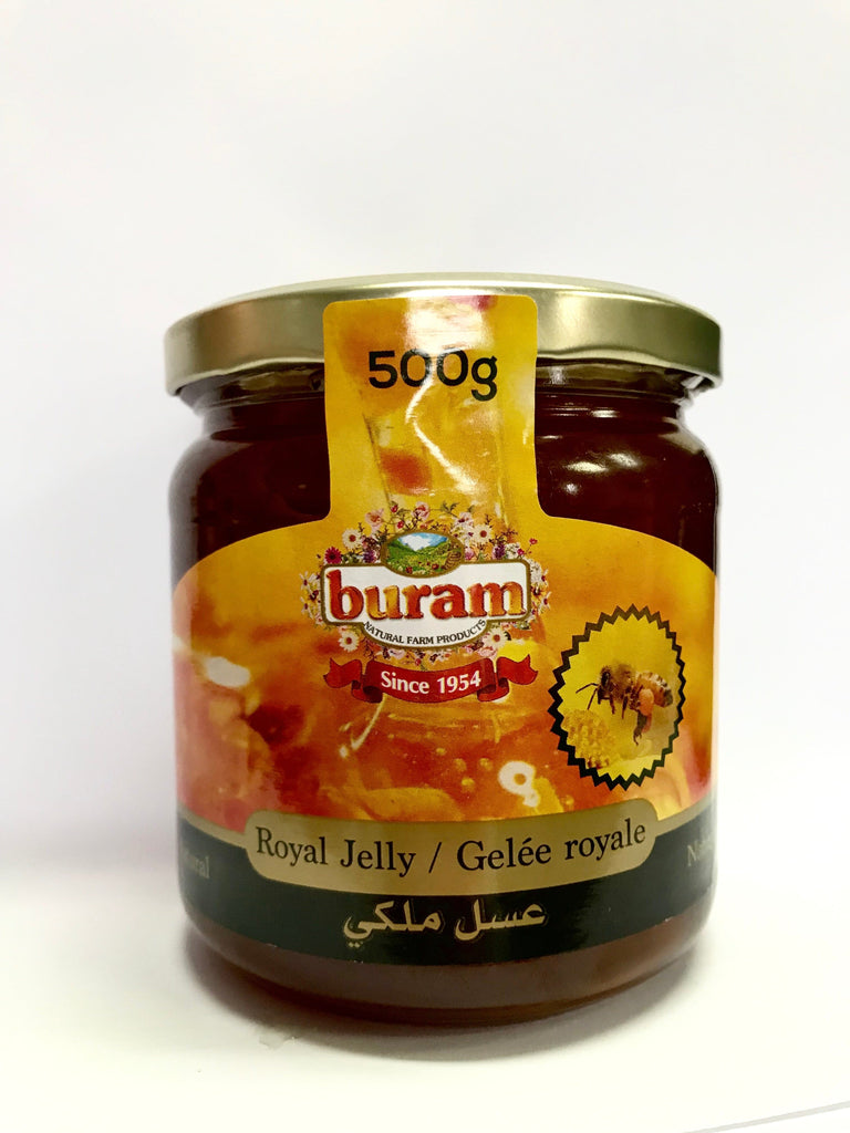 BURAM -Royal Jelly Natural- 500g OUT OF STOCK - Turkish Mart