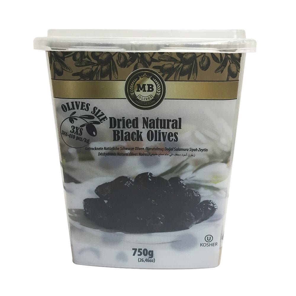 Marmarabirlik  Olives Dried Natural Black Olives - Turkish Mart