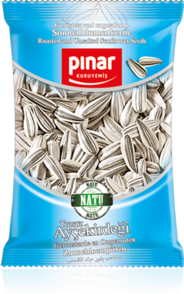 Pinar Roasted and unsalted Sunflowers Seeds - 300gr - Turkish Mart