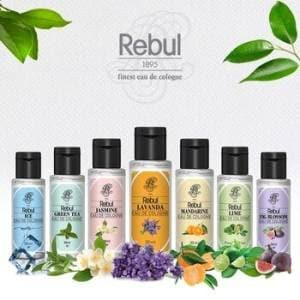 Rebul cologne (kolonya)  80 C' - 50ml -  (various fragrances-sold individually)