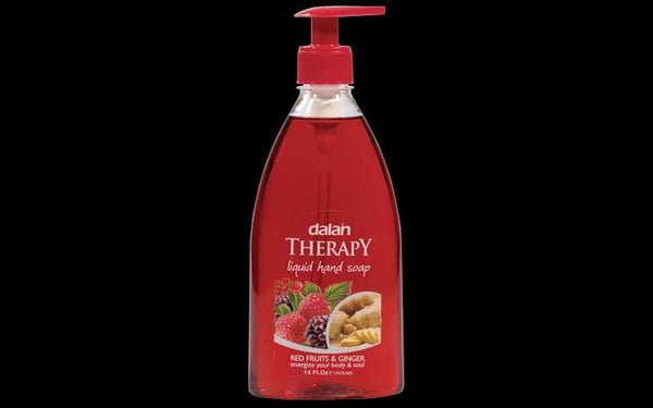 Dalan Therapy Liquid Hand Soap-Red Fruits & Ginger - 400ml - Turkish Mart