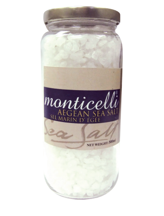 Monticelli Coarse Sea Salt - 500g