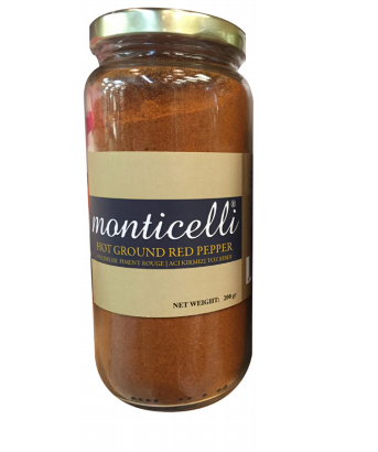 Monticelli Hot Red Ground Pepper - - Turkish Mart