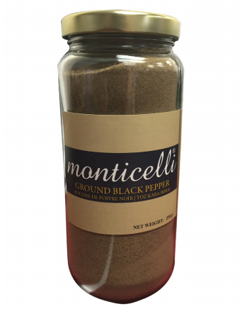 Monticelli Ground Black Pepper 250g