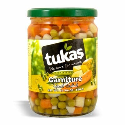 Tukas Garniture Vegetables