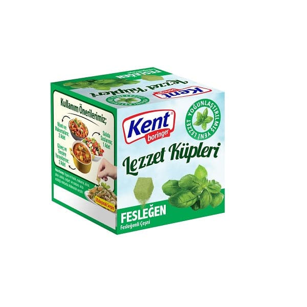 "Basil Seasoning ""Feslegenli Cesni"" Pack of 20 - (4x20)gr"