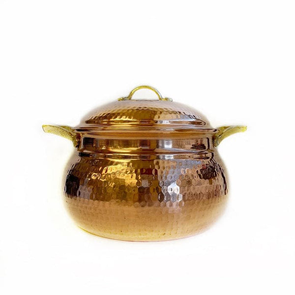 "Copper Cooking Pot ""Medium"" -"