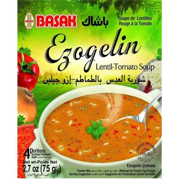 Basak Ezogelin Soup - 75 g - Turkish Mart