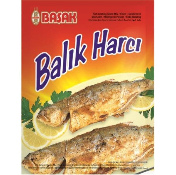 Basak Fish coating - Seasoning - 100g - Turkish Mart