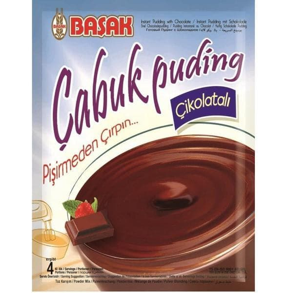 Basak Instant Pudding with Chocolate - 125g - Turkish Mart