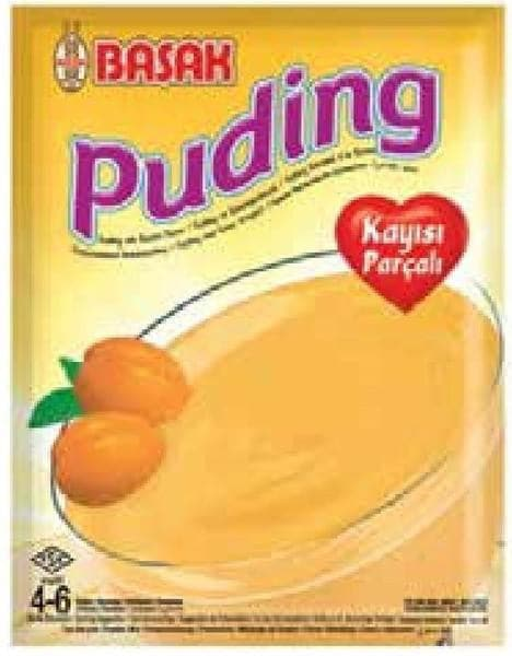 Basak Pudding with Apricot Chunks 130g - Turkish Mart