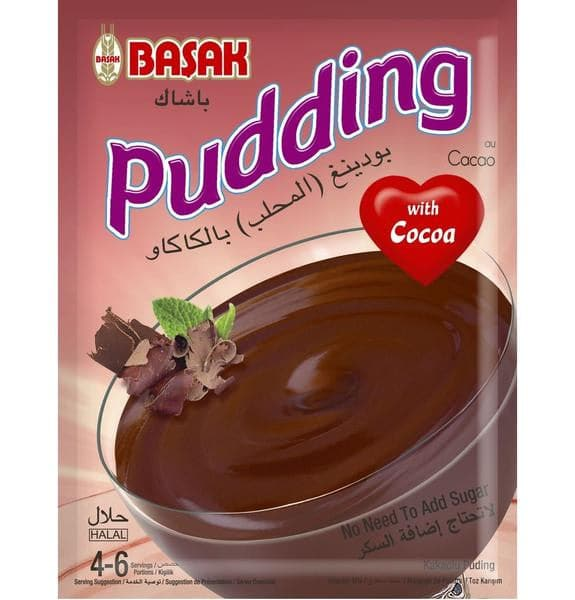 Basak Pudding with Cocoa - 150g - Turkish Mart