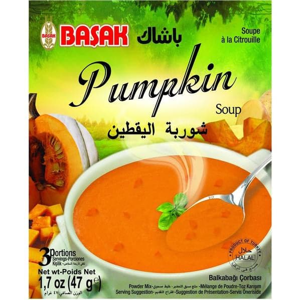 Basak Pumpkin Soup - 47g - Turkish Mart