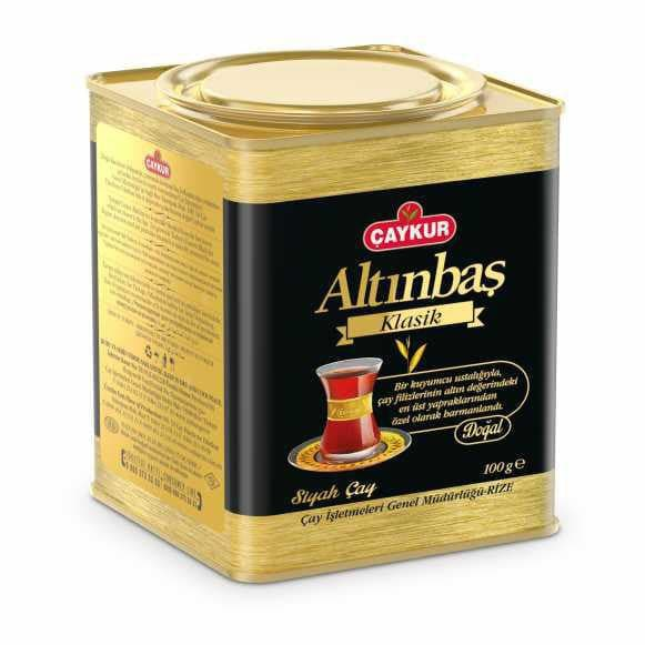 Caykur Altinbas Tea with bergamot small tin - Turkish Mart