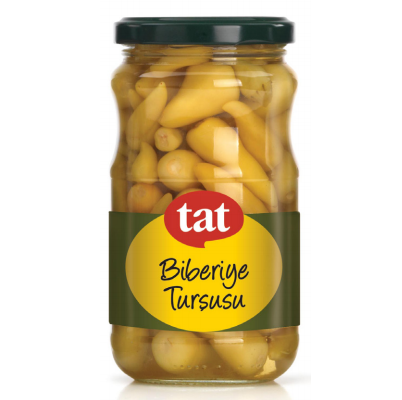 "Tat Hot Pepper Rosemary Pickles ""biberiye tursusu"" - 370g - Turkish Mart"