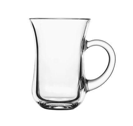 Tea Glass With Handle (Set of 6) 5 oz - (out of stock)