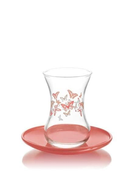 LAV Tea Set Butterfly 1/4 oz - Turkish Mart