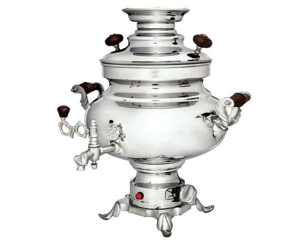"Sarina Electric Samovar ""Silver"" - 5.5Lt"