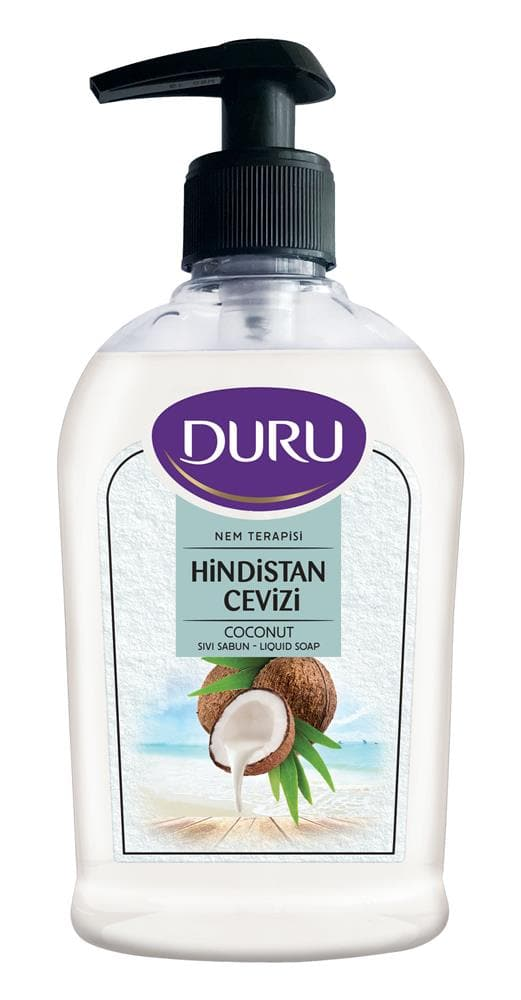 "Duru ""Coconut"" Liquid Hand Soap (hindistan cevizli) - 300 ml"