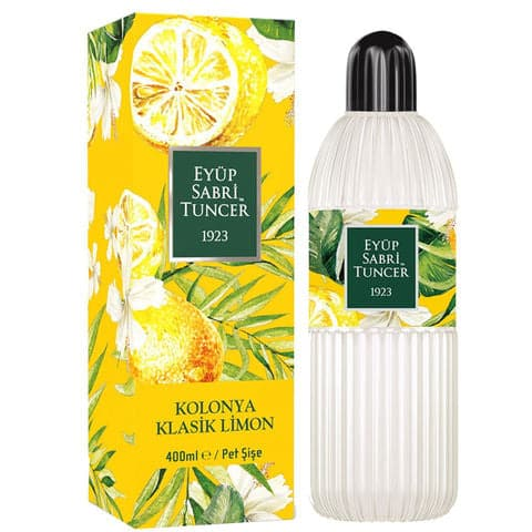"Eau de Cologne ""Classic Lemon""  (Klasik LIMON KOLONYASI)  80 C' - 400ml - PET"