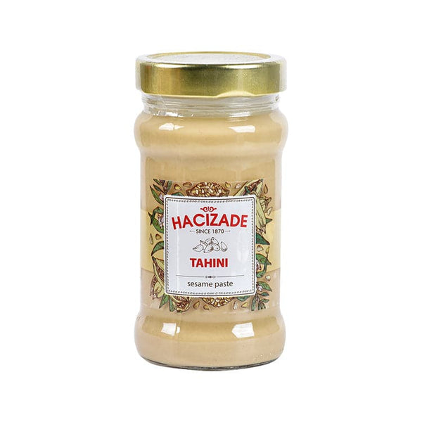 "Hacizade Tahini ""thin sesame paste "" - 380g  GLASS"