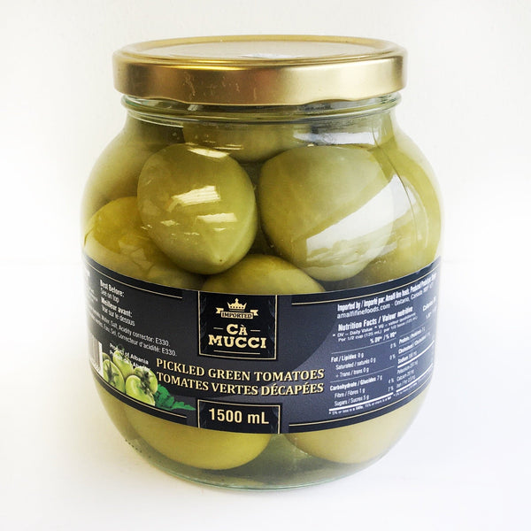 Ca Mucci Pickled Green Tomatoes  -1500ml  GLASS