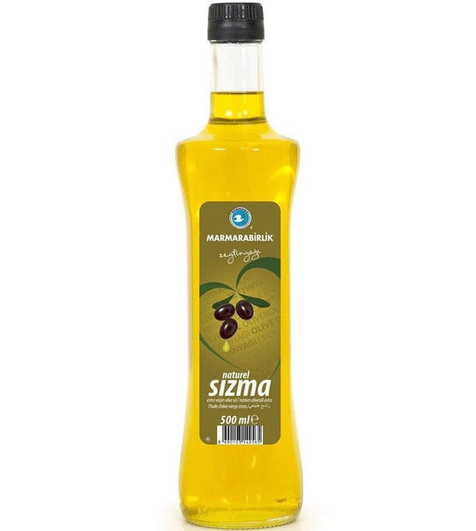 "Marmarabirlik Extra Virgin Olive Oil ""Naturel Sizma Zeytinyagi"" - 250ml - Turkish Mart"