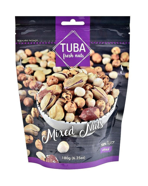 Tuba Mixed Nuts 180g (6.5oz) - Turkish Mart