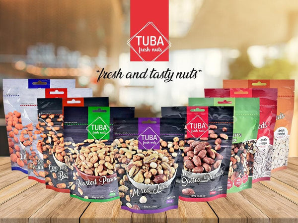 Tuba Double Roasted Pumpkin Seeds 170g (6.5oz) - Turkish Mart