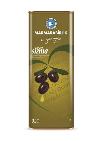Marmarabirlik Natural Sizma Olive Oil 3Lt - Turkish Mart