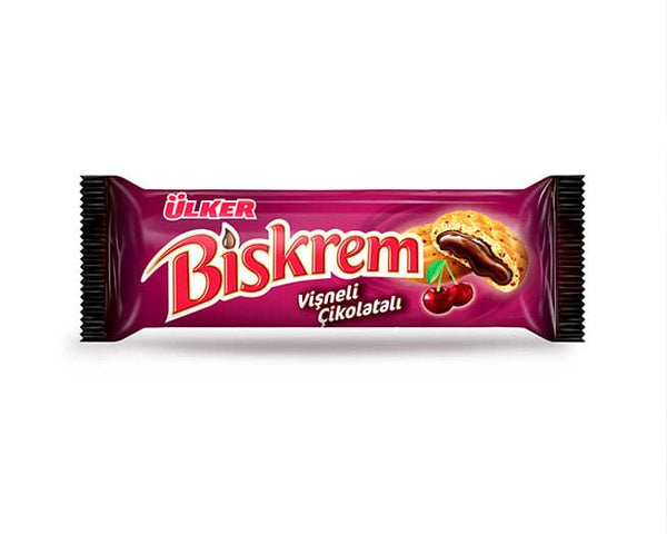 Ulker Biskrem Cherry - 100g - Turkish Mart