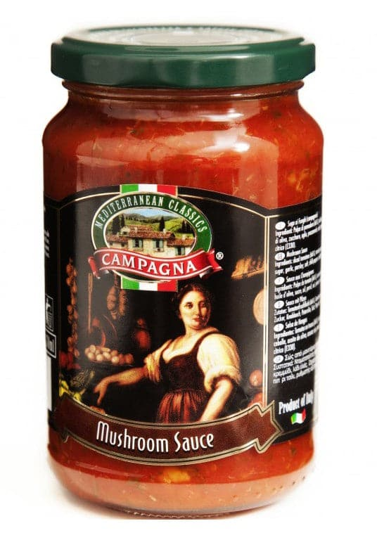Campagna Mushroom Sauce - 350g - Glass - Turkish Mart