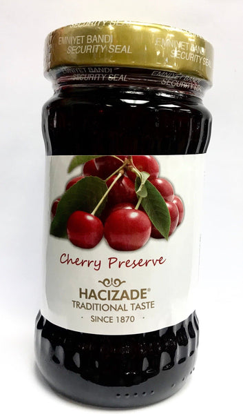 Hacizade Cherry Jam - 380 g - Turkish Mart