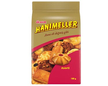 Ulker Hanımeller Assorted Biscuits 210g - Turkish Mart