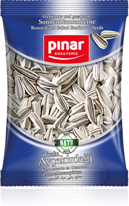 Pinar Roasted Extra Salted Sunflower Seeds - 300gr - Turkish Mart