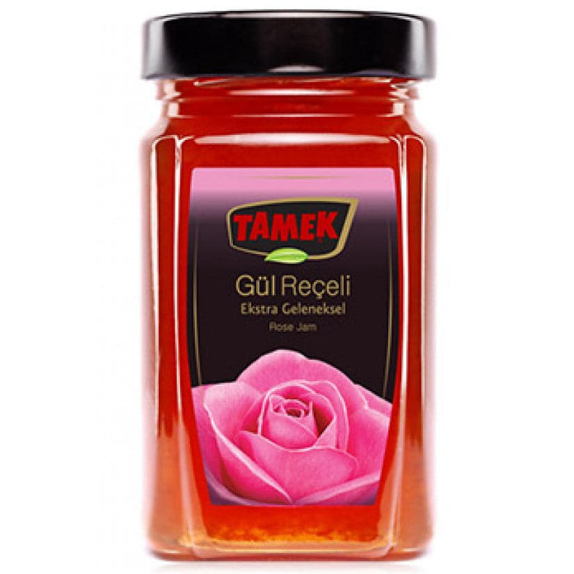 Tamek Gul Receli Rose Jam - Turkish Mart