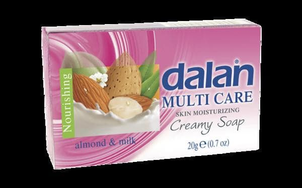 Dalan Multi Care Hotel Soap With Almond Extract And Milk - 20g - Turkish Mart