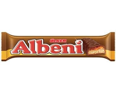 Ulker Albeni chocolate bar