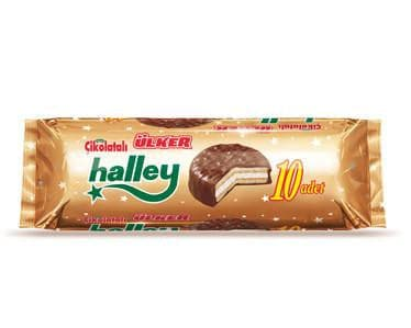 Ulker Halley Chocolate 10 Pieces 300g