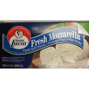 Santa Lucia Fresh Mozzarella - 2 x 125g   **** deliveries : GTA only **** - Turkish Mart