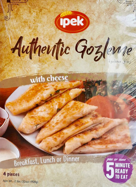 "Ipek Gozleme stuffed with ""cheese""  FROZEN"