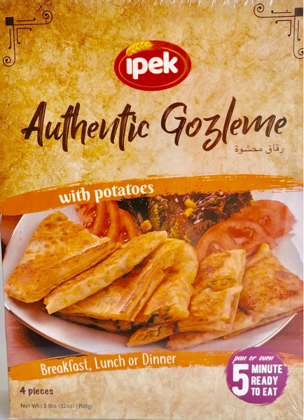 "Ipek Gozleme stuffed with ""potato""  FROZEN  ** deliveries : GTA only **"