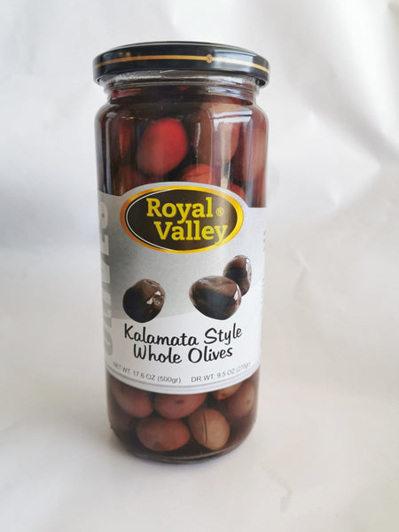Royal Valley Kalamata Style Whole Olives '' Kalamata Zeytin''