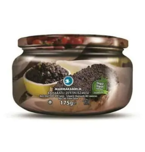 Marmarabirlik Black Olive Paste Spicy 175g