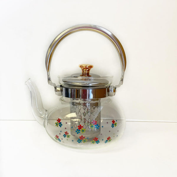 Tea Pot Glass - medium size