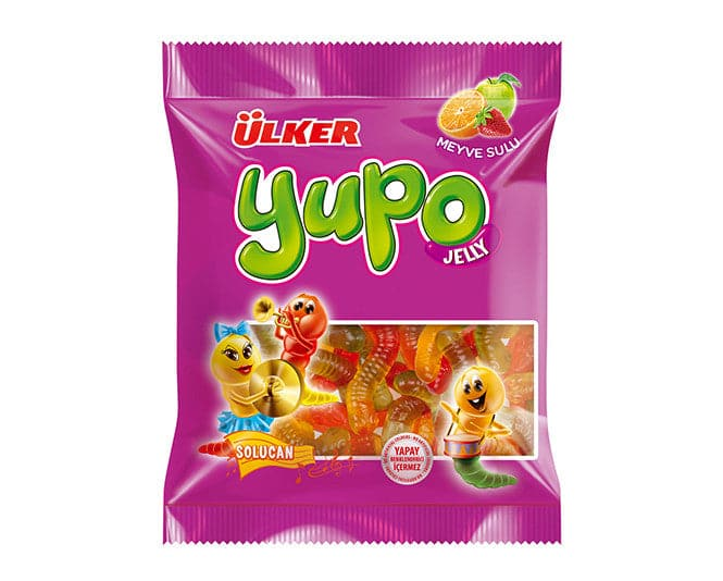 Ulker Yupo Jelly - Solucan 25 gr OUT OF STOCK