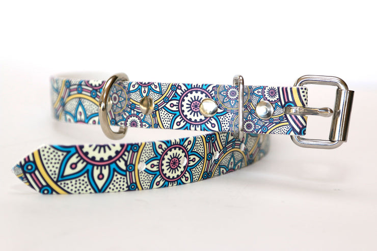 Henna Waterproof Sport Dog Collar - 1 inch