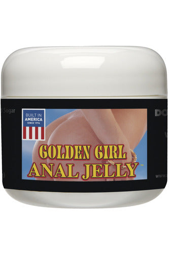 Golden Girl Anal Jelly 2 Oz Bulk - My Sex Toy Hub