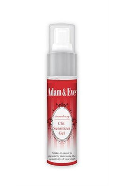 Adam and Eve Strawberry Clit Sensitizer Gel 1 Oz | Adam and Eve | My Sex Toy Hub